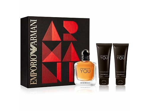 Giorgio Armani dárkový set Stronger With You Set (100 ml) 1 kus