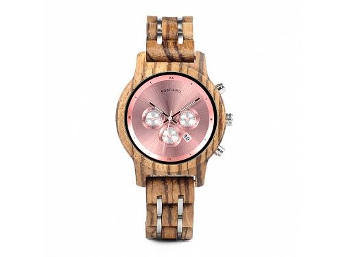 Dřevěné hodinky Amélie c256403f36