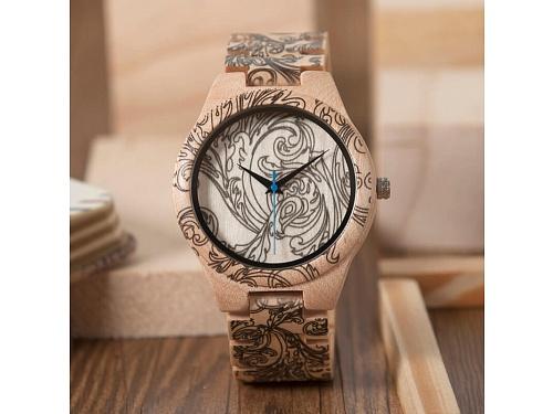 Dřevěné hodinky Gabrielle b34b5bc4d8