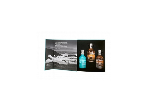 Bruichladdich Tasting Collection 3 x 0,2 l v dárkové kazetě