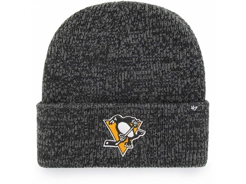 47 NHL Pittsburgh Penguins Brain Freeze CUFF KNIT UNI šedá