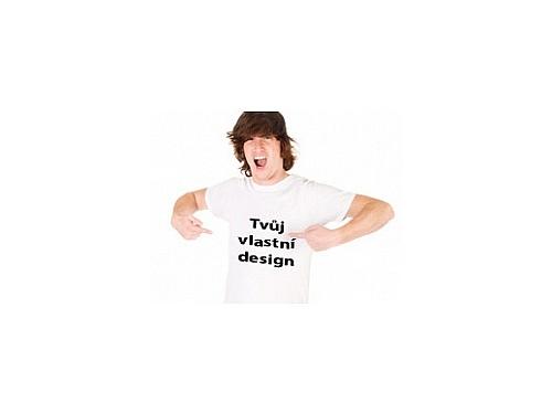 511230c11f0 Pánské tričko s vlastním potiskem Pánské tričko s vlastním potiskem