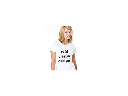 d861ea1d3f3 Dámské tričko s vlastním potiskem Dámské tričko s vlastním potiskem